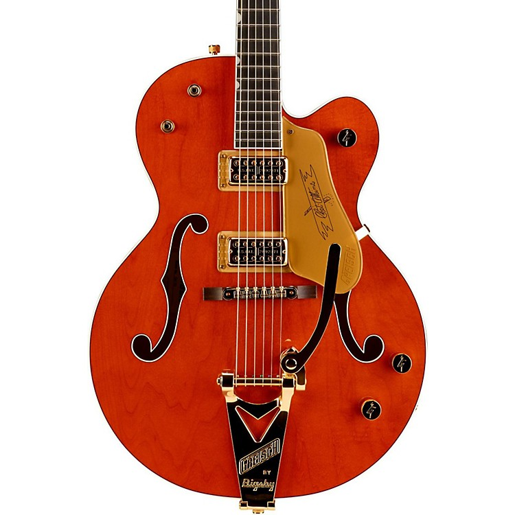 Gretsch Guitars G6120 Chet Atkins Hollowbody Electric Guitar Amber