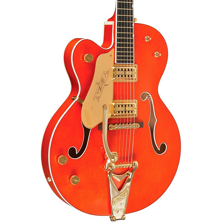 Gretsch Guitars G6120LH Left-Handed Chet Atkins Hollowbody Electric Guitar Western Maple Stain