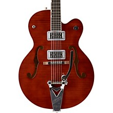 G6120SH Brian Setzer Hot Rod Flame Maple Body Semi-Hollow Electric Guitar Roman Red 2-Color