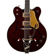 G6122T-62GE Vintage Select Edition 1962 Chet Atkins Country Gentleman Hollowbody Electric Guitar Walnut Stain