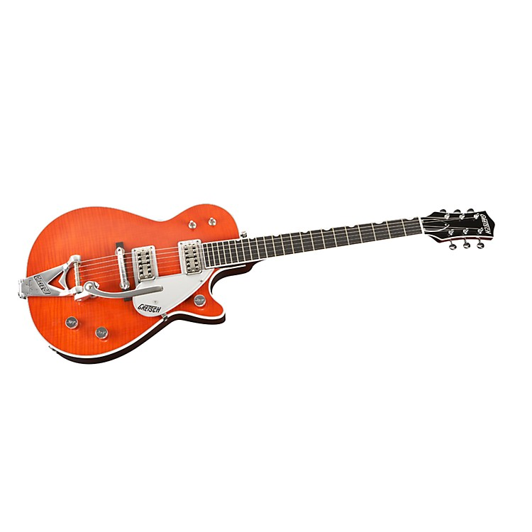Gretsch Guitars G6128T-TVTAFWO Duo Jet FSR Flame Top Electric Guitar