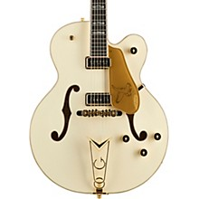 G6136-55 Vintage Select Edition '55 Falcon Hollowbody with Cadillac Tailpiece Vintage White
