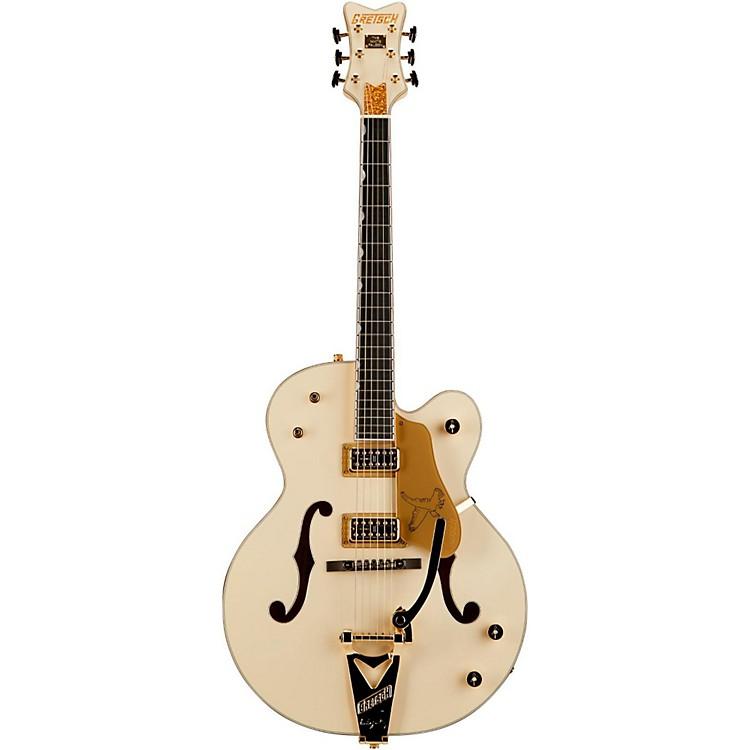 Gretsch GuitarsG6136T-LTV White Falcon Lacquer Finish TV Jones PickupsWhite