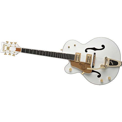 Gretsch Guitars G6136TLH White Falcon Left-Handed Electric Guitar