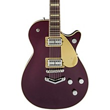 "Gretsch Guitars G6228-PE Players Edition Duo Jet Single Cutaway Electric Guitar with ""V"" Stoptail"