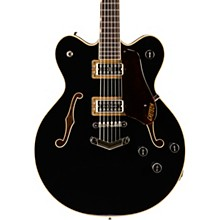 Gretsch Guitars G6609 Players Edition Broadkaster Center Block with V-Stoptail Black
