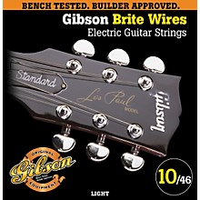 Gibson G700L Brite Wires Electric Guitar Strings - Light
