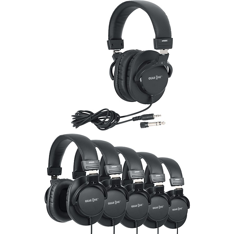 Gear One G900DX Headphone 6 Pack