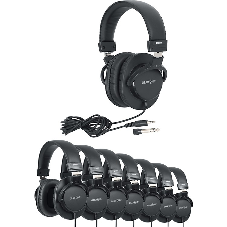 Gear One G900DX Headphone 8 Pack