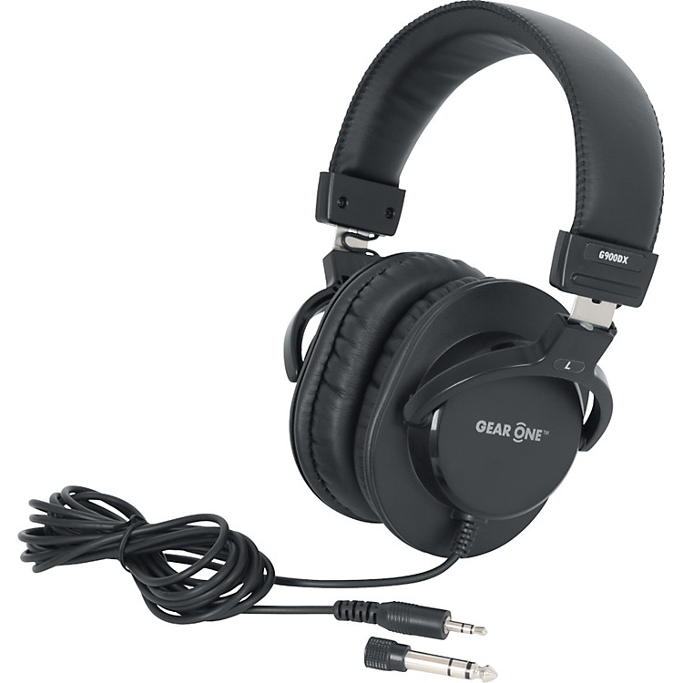 Gear One G900DX Headphones Black