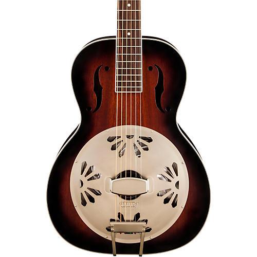 Gretsch Guitars G9240 Alligator Biscuit Round Neck Resonator 2-ToneSunburst