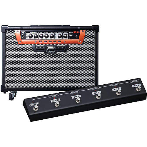 Roland GA-212 2X12 200W Guitar Combo Amplifier with Footswitch