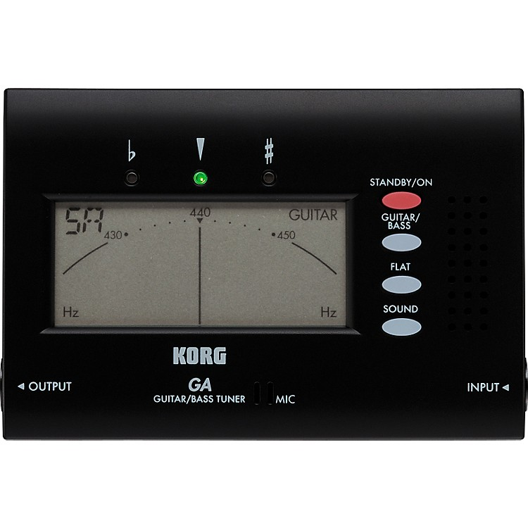 Korg GA-40 Electronic Guitar and Bass Tuner