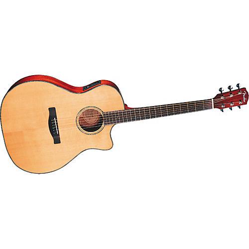 Fender GA-43SCE Grand Auditorium A/E Guitar with Case