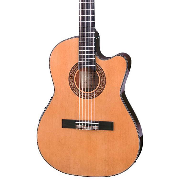 IbanezGA Series GA5TCE Thinline Classical Acoustic-Electric GuitarNatural