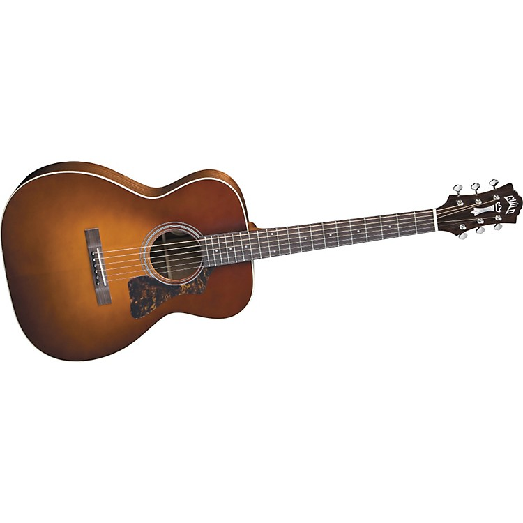 Guild GAD-30 Acoustic Design Series Orchestra Guitar with Case