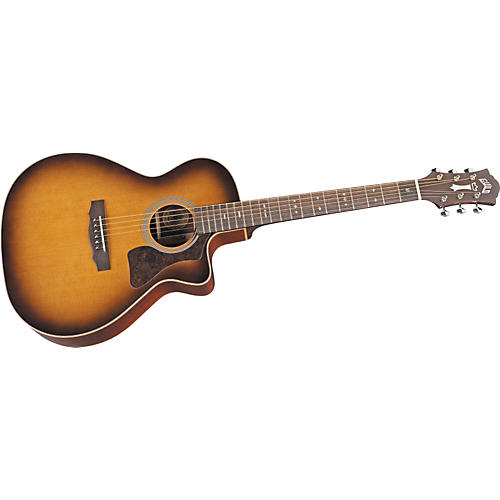 Guild GAD-F30PCE Cutaway Acoustic-Electric Guitar
