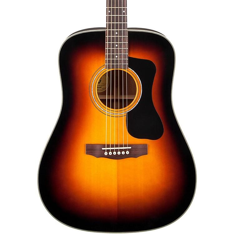 GuildGAD Series D-140 Dreadnought Acoustic GuitarSunburst