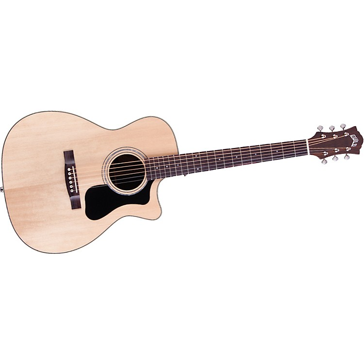 GuildGAD Series F-130RCE Orchestra Acoustic-Electric GuitarNatural