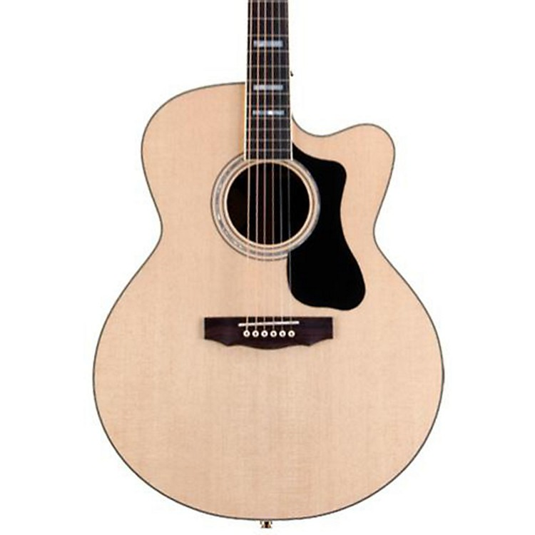 Guild GAD Series F-150RCE Jumbo Acoustic-Electric Guitar Natural