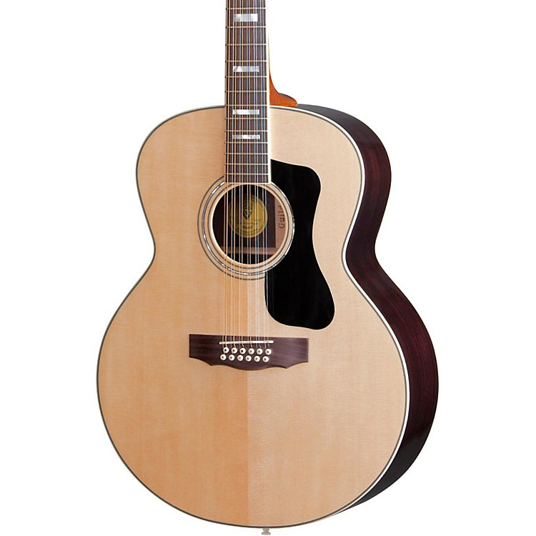 Guild GAD Series F-1512 12-String Jumbo Acoustic Guitar Natural