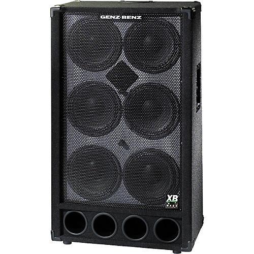 Genz Benz GB 610T-XB2 6x10 Bass Cabinet with Tweeter | Musician's ...