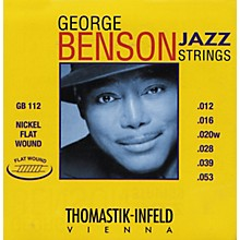 Thomastik GB112 Medium Light George Benson Custom Flatwound Guitar Strings