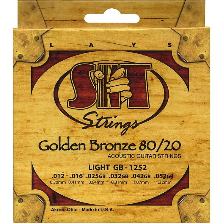 SIT StringsGB1252 Golden Bronze 80/20 Light Strings