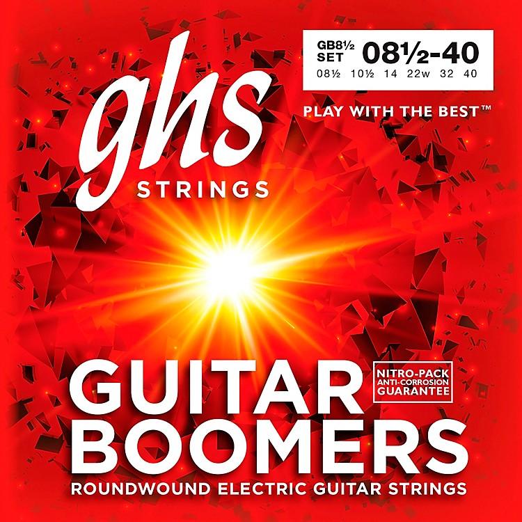 GHSGB8 1/2 Boomers Ultra Light+ Electric Guitar Strings