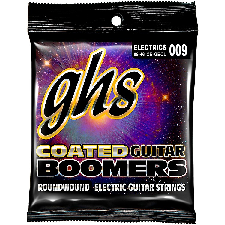 GHSGBCL Coated Boomers Custom Light Electric Guitar Strings