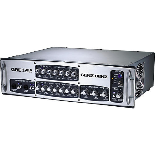 Genz Benz GBE 1200 Bass Amp