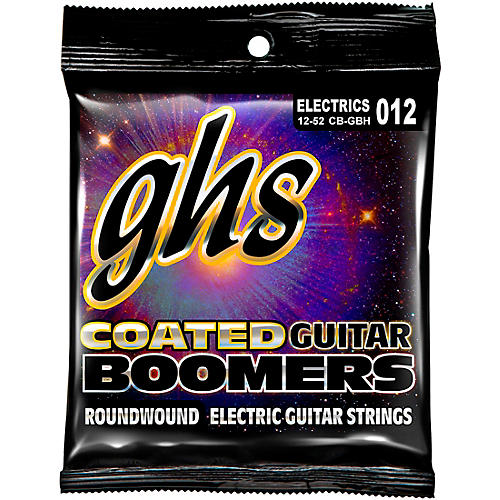 GHS GBH Coated Boomers Heavy Electric Guitar Strings