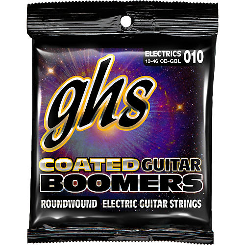 GHS GBL Coated Boomers Light Electric Guitar Strings