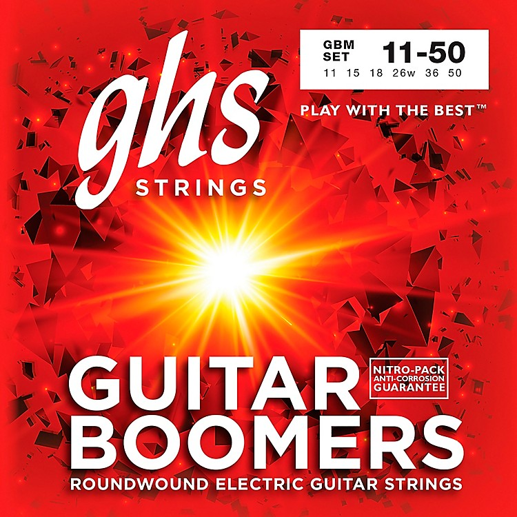 GHS GBM Boomers Medium Electric Guitar Strings