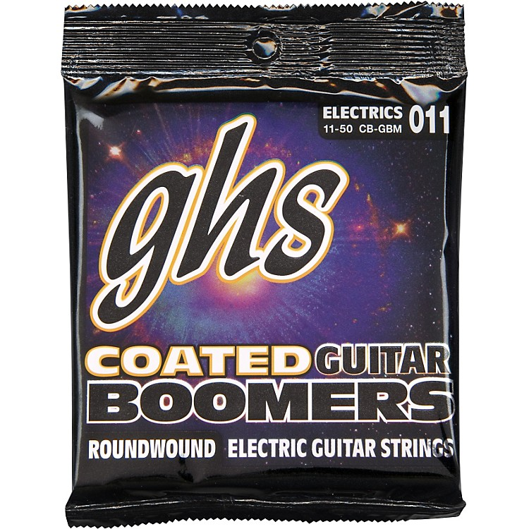 GHS GBM Coated Boomers Medium Electric Guitar Strings
