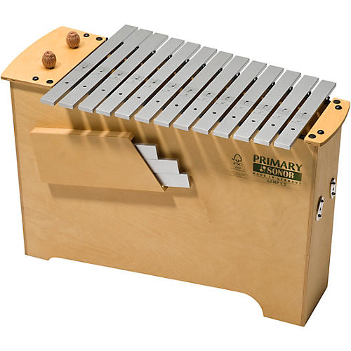 Primary Sonor GBMP1 Diatonic Deep Bass Metallophone-thumbnail