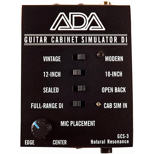 ADA Signal Processors GCS-2 Guitar Cabinet Simulator & DI Box ...