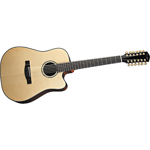 Fender GD47SCE-12 Dreadnought Acoustic-Electric 12-String Guitar
