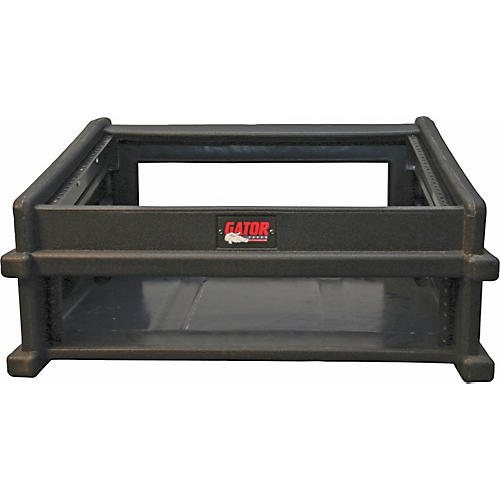 Gator GDJ-8x2 Slant Top Mix Station Rack Case Black