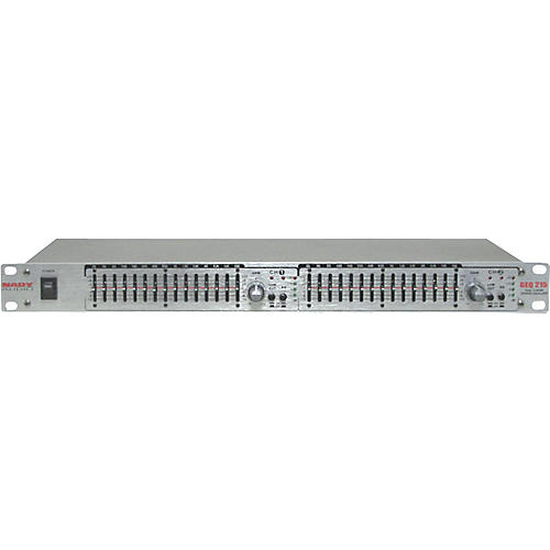 Nady GEQ-215 2-Channel 15-Band Graphic Equalizer