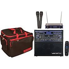Open BoxVocoPro GIG STAR Karaoke Machine Package