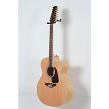 Takamine GJ72CE-12 G Series Jumbo Cutaway 12-String Acoustic-Electric Guitar Level 2 Natural, Flame Maple 190839109248