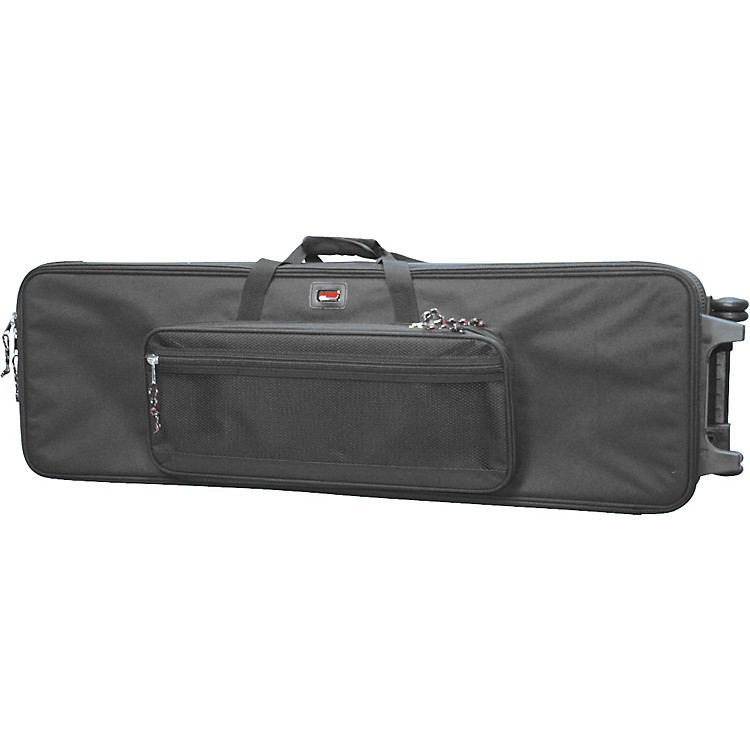 Gator GK-4212 Lightweight 61-Key Keyboard Case on Wheels