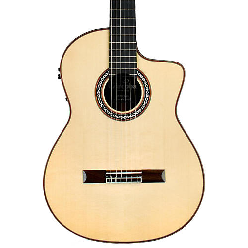 Cordoba GK Pro Negra Nylon Acoustic-Electric Guitar