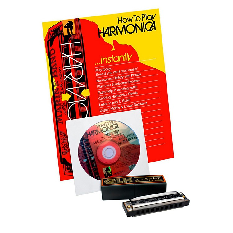 Hohner GLH-300 Complete Harmonica Package