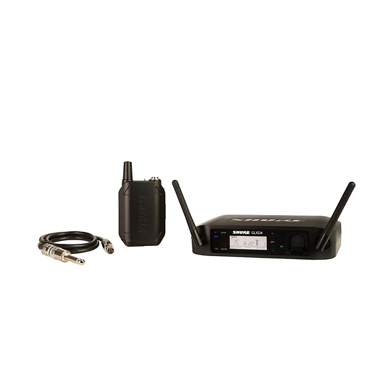 Shure GLX-D Guitar Wireless System with GLXD4 Wireless Receiver Z2