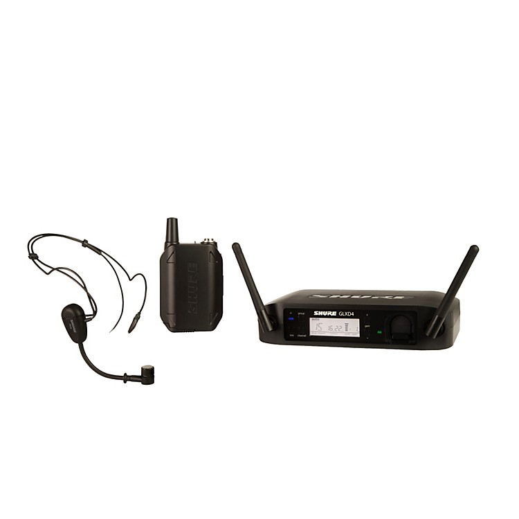 Shure GLX-D Wireless Vocal System with PG30TQG Headset Mic