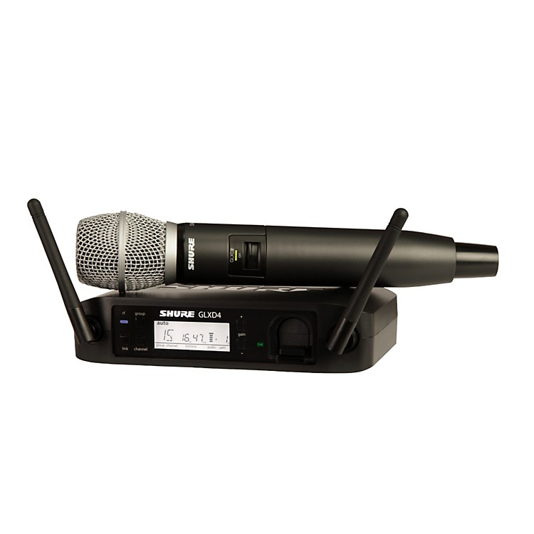 Shure GLX-D Wireless Vocal System with SM86 Mic Z2