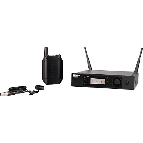 Shure GLXD14R Advanced Wireless System With WL185 Lavalier Microphone-thumbnail