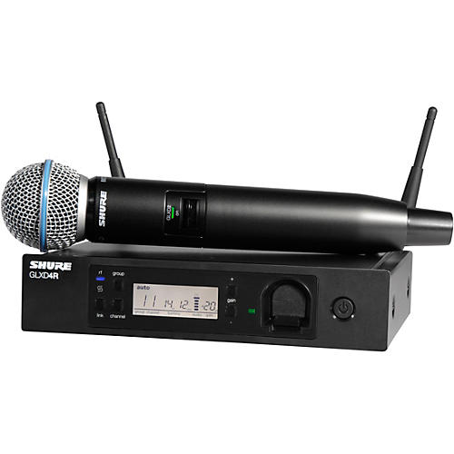 Shure GLXD24R/B58 Advanced Wireless System with BETA58 Microphone-thumbnail